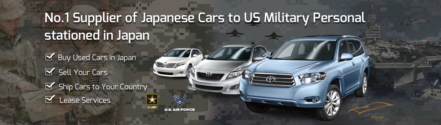 Cars for US Militry in Japan